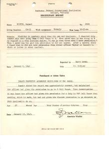 Disciplinary Report 1/13/45 (NAID 18558235)