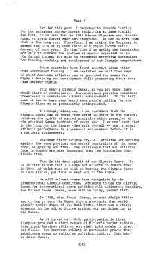 Exchange of remarks between the President and Jesse Owens, 8/5/1976