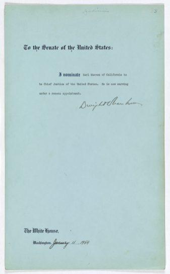 Eisenhower's Message