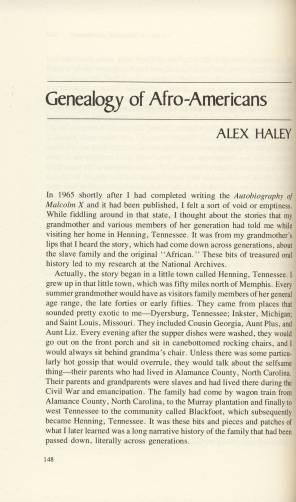 Alex+Haley+Presentation+-+first+page+from+Clarke+book