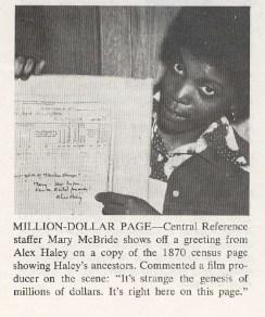 Alex+Haley's+Ancestors+on+1870+Census+Record+-+NARS+Newsletter,+November+1977