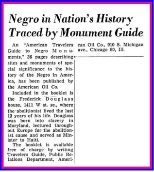 American+Traveler's+Guide+to+Negro+Monuments+-+Washington+Post,+June+16,+1963