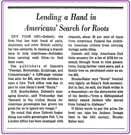British+Peerage+Publisher+Expands+to+America+-+Washington+Post,+May+6,+1977.jpg