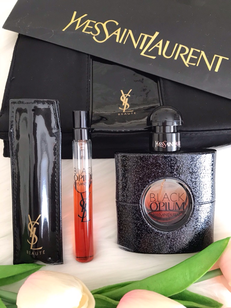 YSL Black Opium luxe photography - Rediscovering My Style