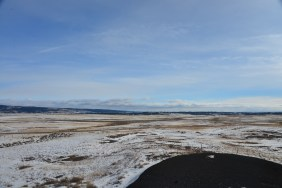 Winter Plains in Northeastern WY