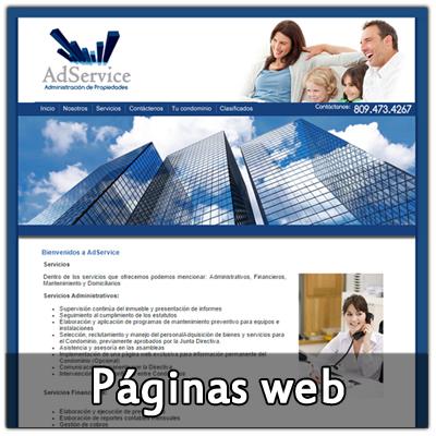Páginas web realizadas