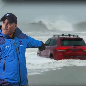 The RedJeepDorian - Jim Cantore Hurricane Meme