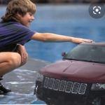 The RedJeepDorian - Kid Petting Jeep Dolphin Meme