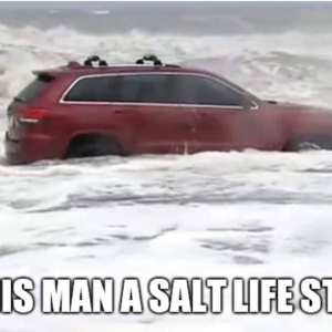 The RedJeepDorian - Salt Life Meme