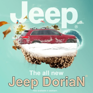 The RedJeepDorian - The All New Jeep Dorian Meme