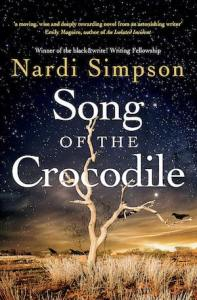 Book cover image with of bare tree at dusk and stormy weather