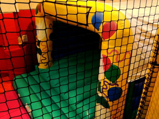 krazy play days bouncy castle
