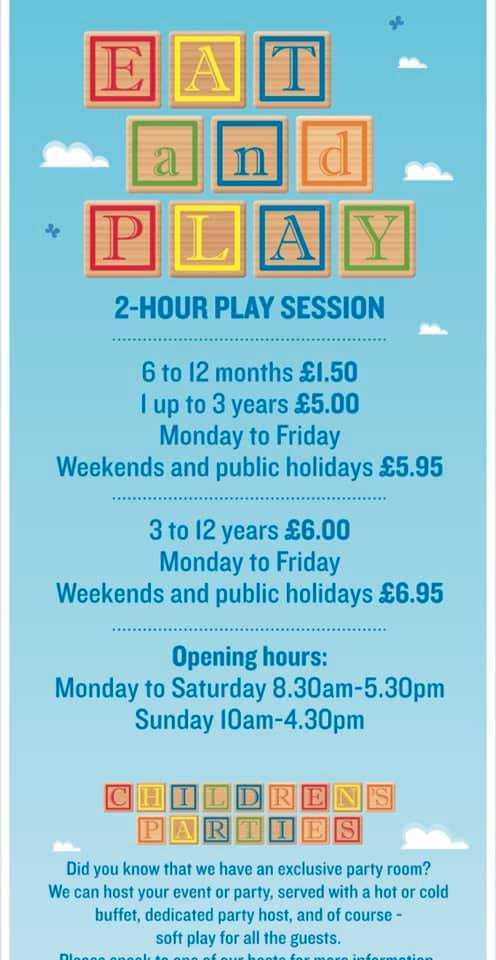 Bicester avenue soft play prices, bicester avenue soft play session times