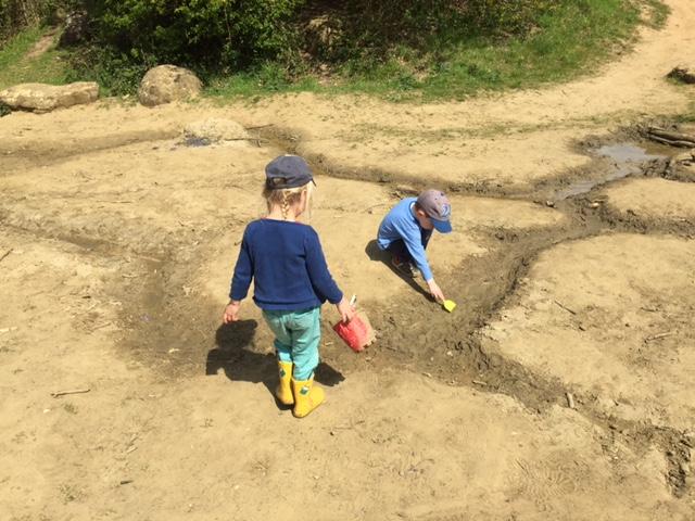 shotover, sandpit, kids, free