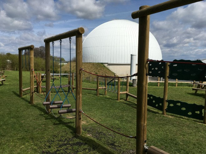 winchester science centre playground, planetarium playground, winchester days out playground, science centre winchester