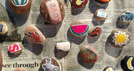 kids craft story stones