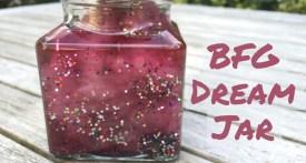 roald dahl, craft, BFG, Dream Jar, kids