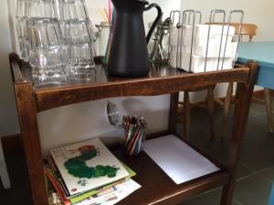 child friendly cafe, the batch cafe, bletchingdon