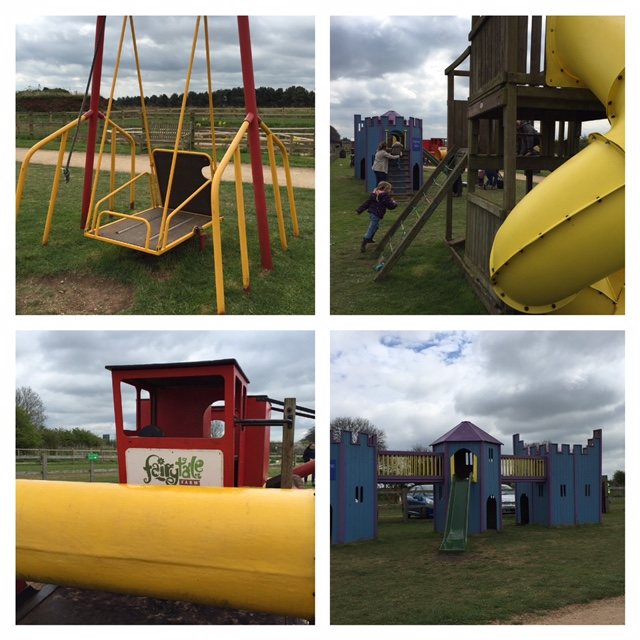 fairtytale farm, playpark, review, chipping norton, oxfordshire, wheelchair swing