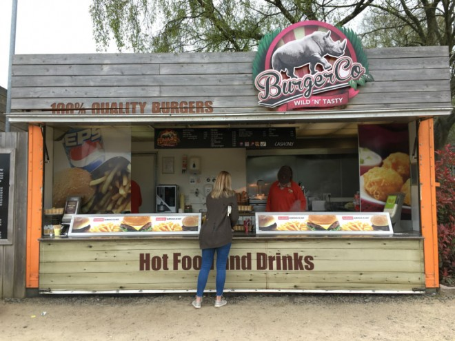 west midland safari park review, safari parks kids, food at west midland safari park
