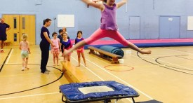 gymnastics lessons, woodstock, oxfordshire, jane brooks, summer camp, summer childcare woodstock