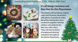 christmas holiday club, holiday playscheme