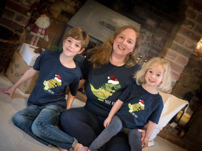 family christmas tshirts, matching christmas top