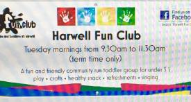 baby and toddler group harwell, stay and play harwell, harwell fun club