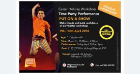 stagecoach kidlington easter, easter holiday club, drama classes oxfordshire, drama workshop oxfordshire