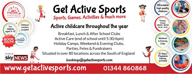 get active sport holiday camps, gems primary holiday club didcot
