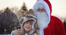 father christmas oxfordshire, visit santa oxfordshire, santa grotto oxfordshire
