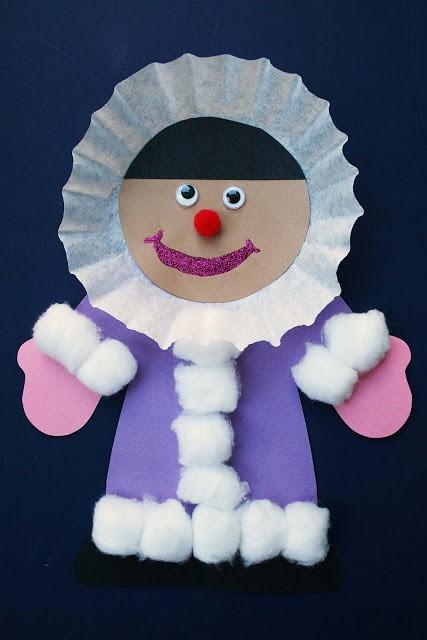 eskimo craft for kids