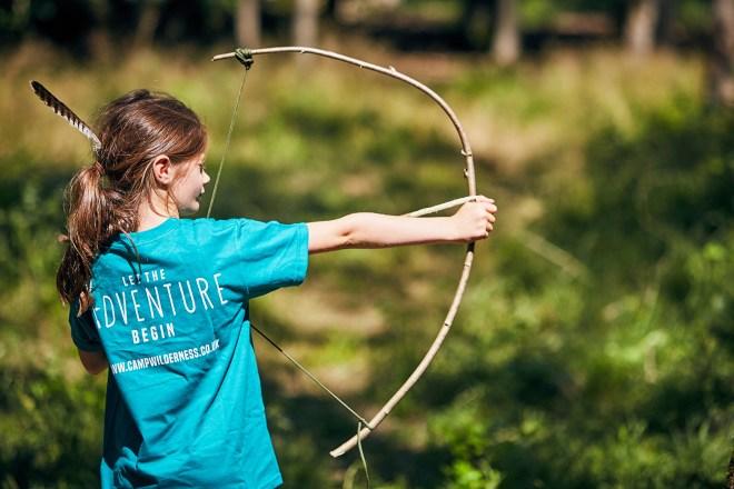 archery for kids, holiday club Oxford