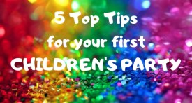 organising childrens party, kids party ideas