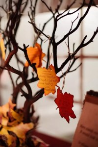 ideas for a naming ceremony, wishing tree