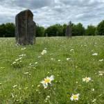 Ardington Millenium sundial, Ardington Millennium Stones, standing stones Oxfordshire