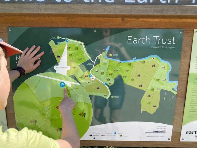 Neptune Wood Oxfordshire map