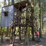 Willowbrook Farm Hampton Gay, woodland tree house, amazing tree houses