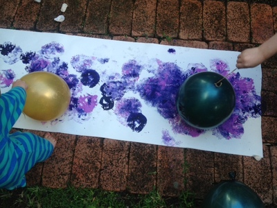 outdoor painting ideas for kids