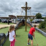crazy golf Tewkesbury, crazy golf Gloucestershire, Sherdons Adventure Golf