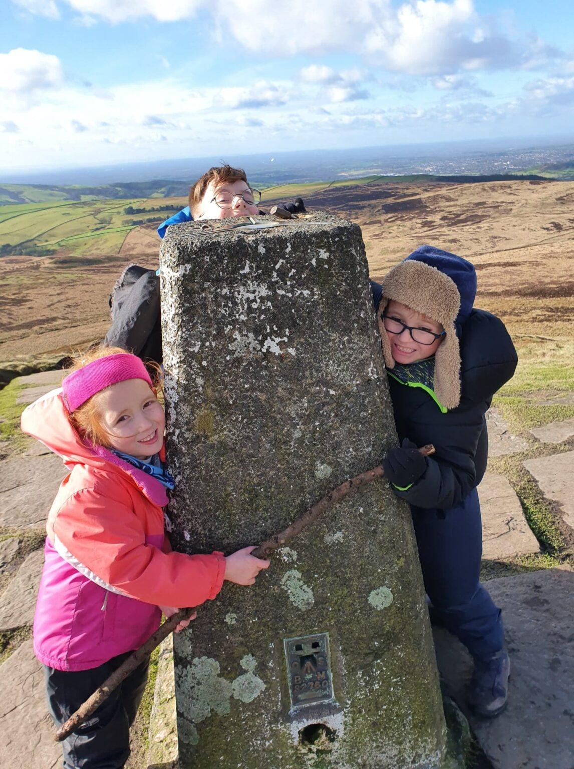 peak district family walk, easy walks for kids peak district, cheshire family walk