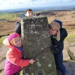 peak district family walk, easy walks for kids peak district, cheshire family walk