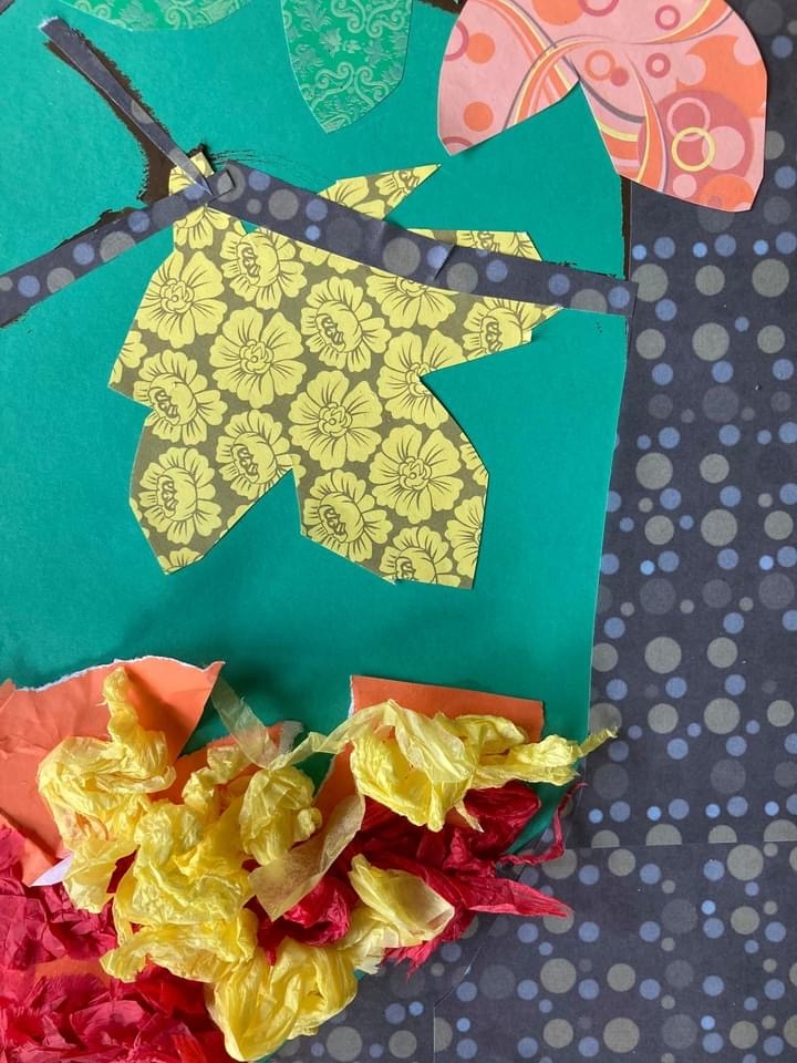 Autumn kids craft, Fall kids craft, Fall tree kids craft