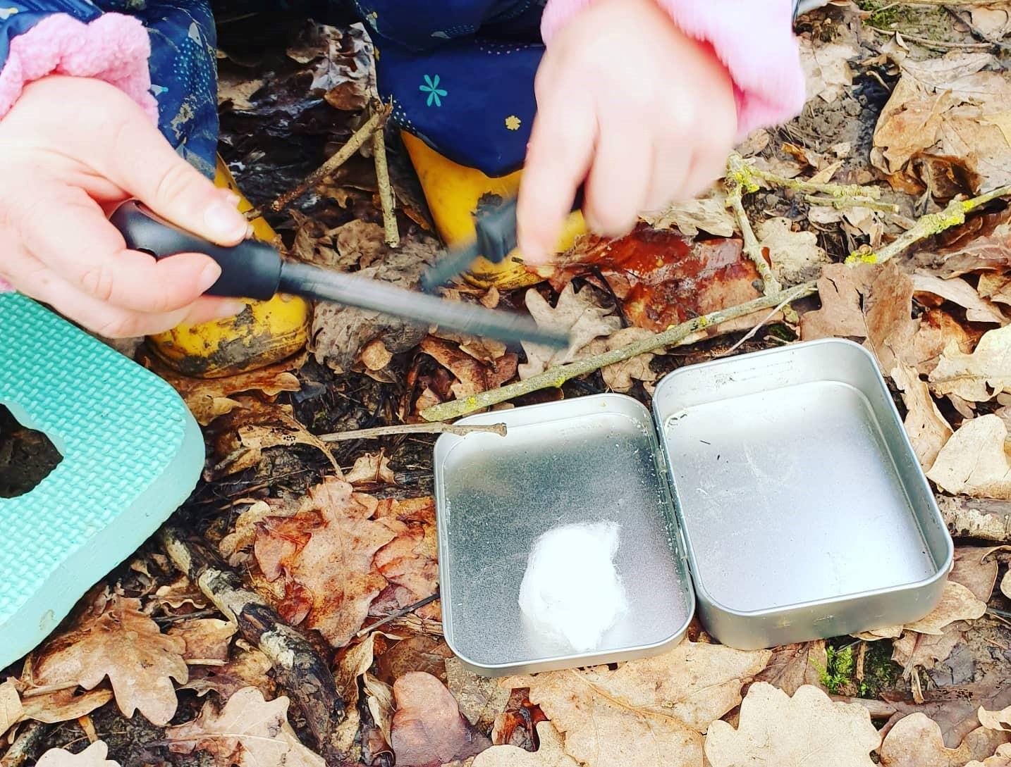 forest school activities oxford, forest school activities fire