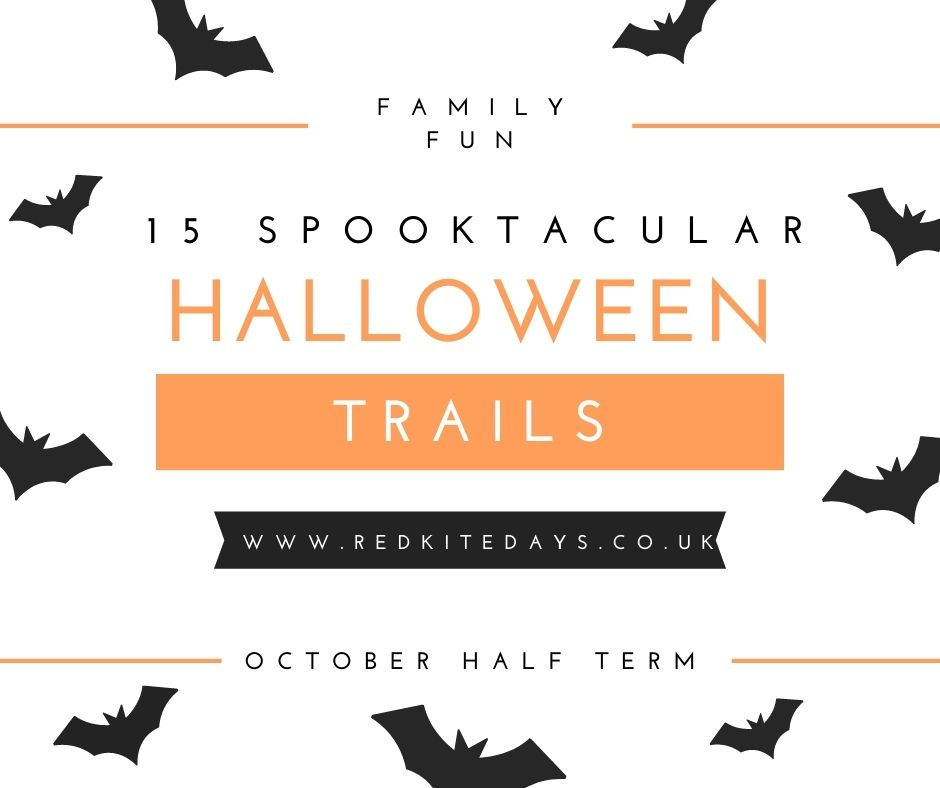 halloween trail, halloween events, whats on for kids cheshire, october half term cheshire, whats on Manchester