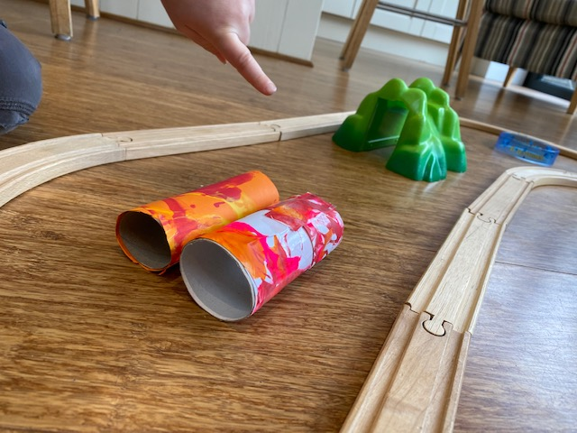 indoor mini golf, indoor crazy golf, make indoor golf course, DIY crazy golf kids