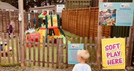 ladds garden centre soft play, soft play hare hatch, toddler soft play near Reading, things to do with toddlers near Reading