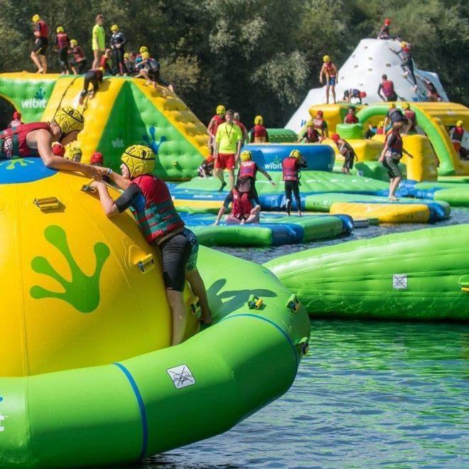 aqua park berkshire, outdoor swimming berkshire, activities for teenagers berkshire