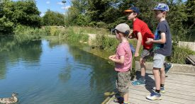 bibury trout farm, fishing with kids, gloucestershire family day out, days out with kids gloucestershire