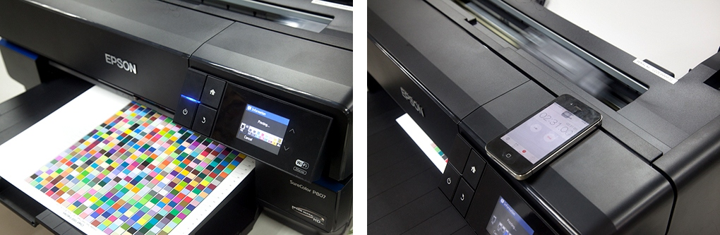 Epson P807 printspeed